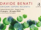 DAVIDE BENATI ORIGAMI - OPERE RECENTI | dal 21 marzo 2020